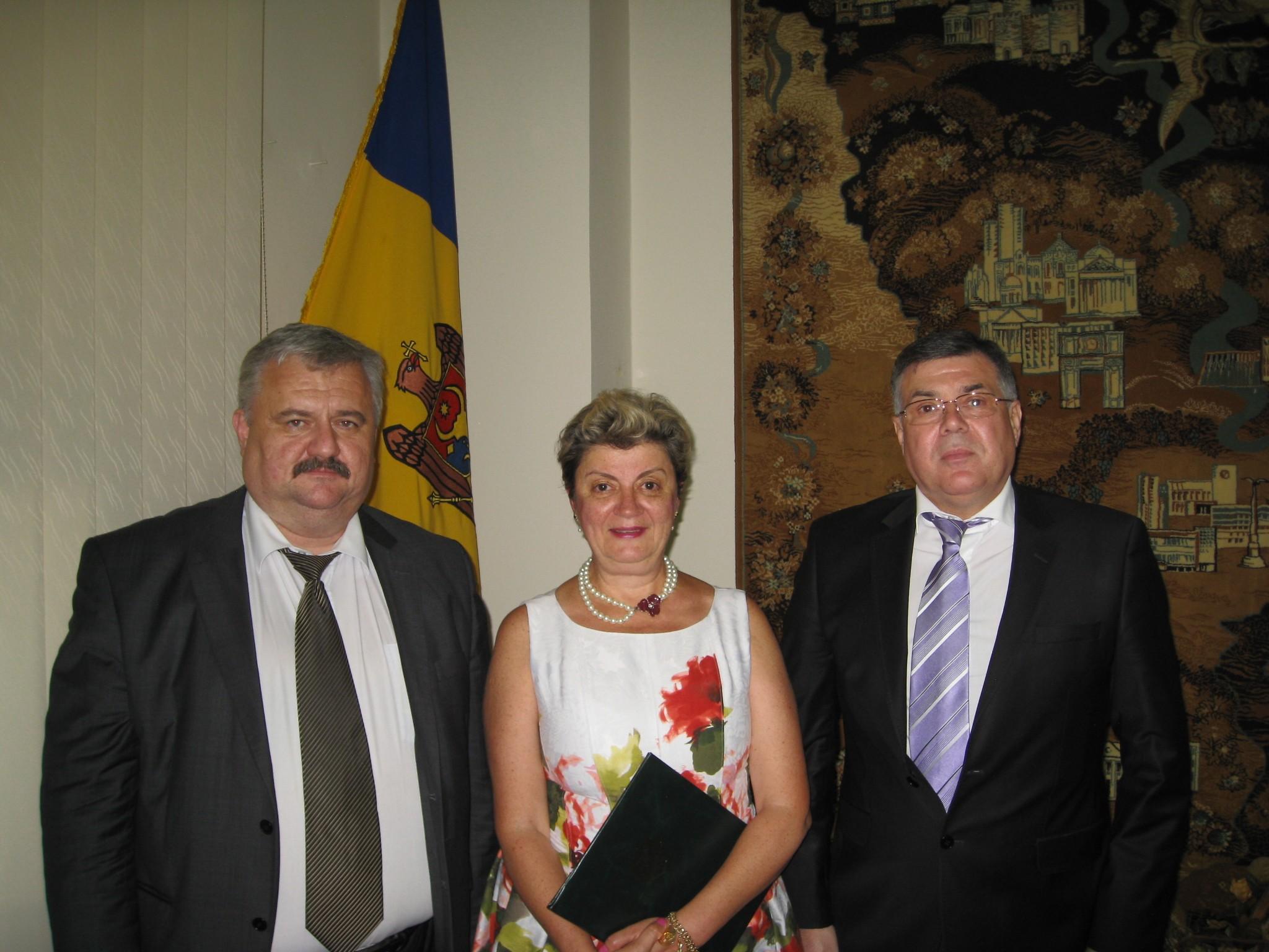 Anghelescu Receives Award