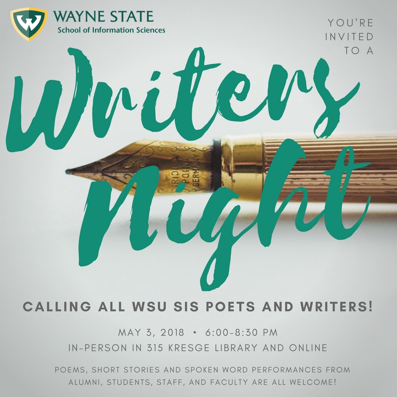 Writers Night Image
