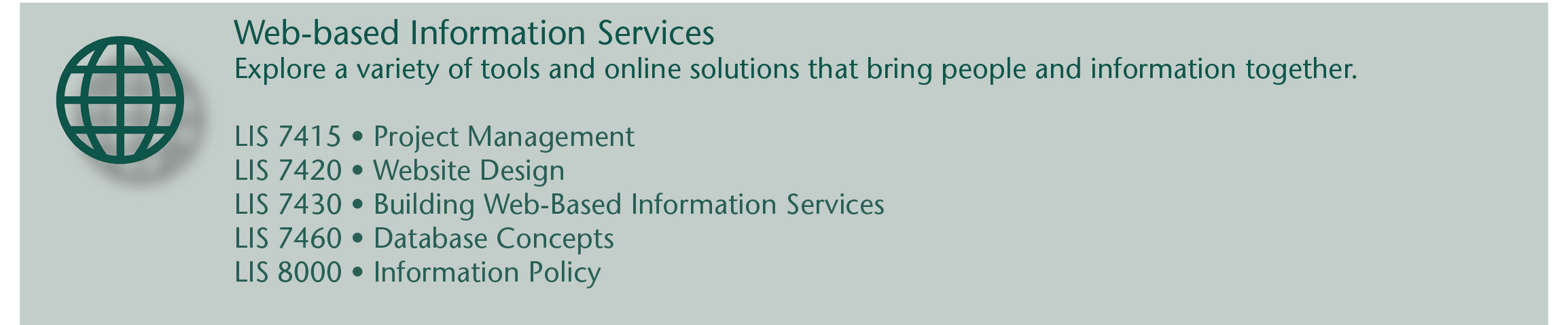 Web based Info Services