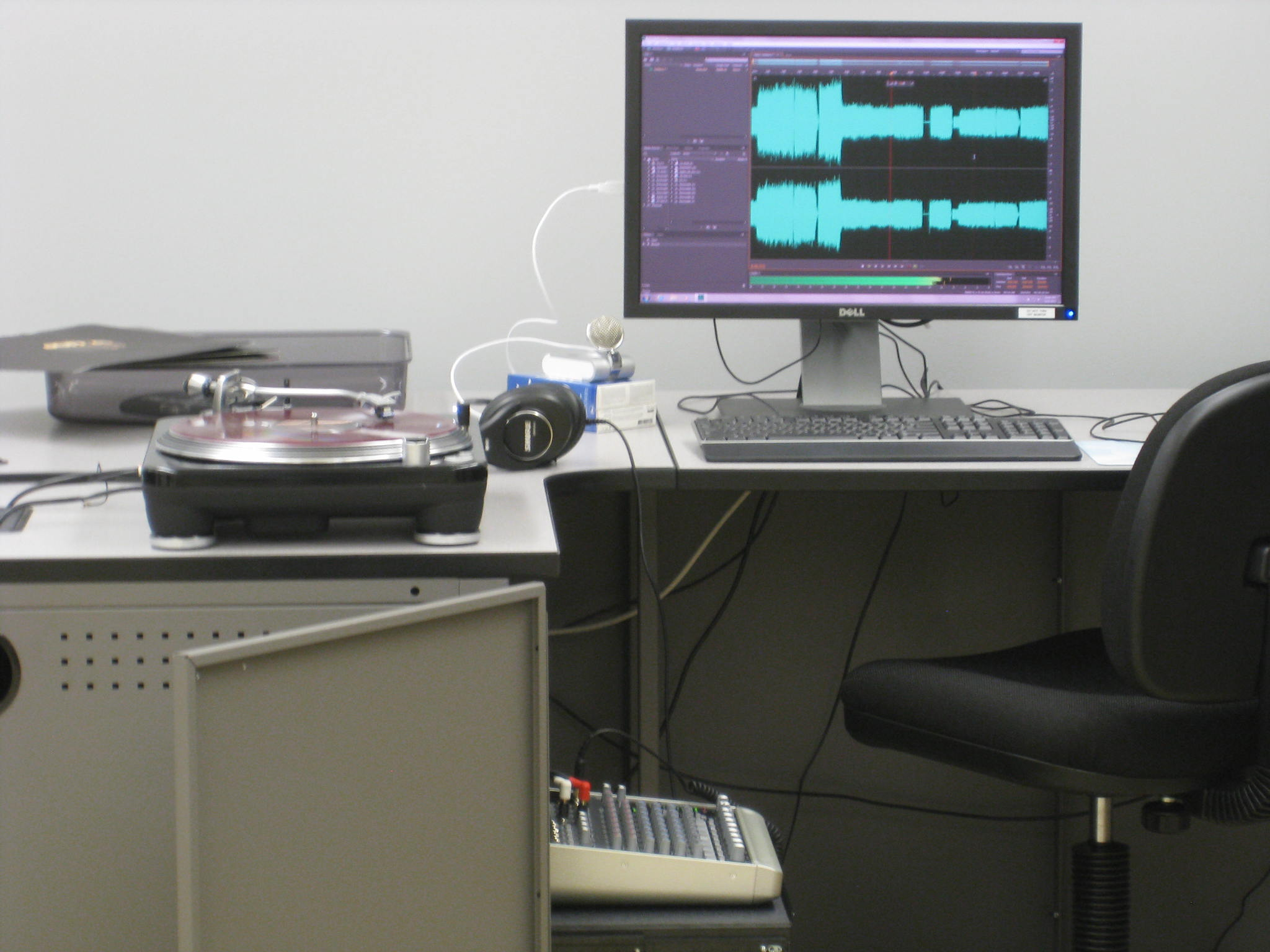 Digital Media Projects Lab Audio Station